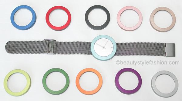Design watch by pierre junod