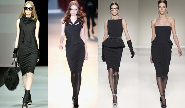 Black dresses for women over 40