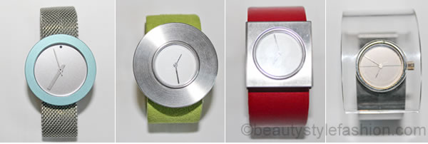 fashion watches in different colours