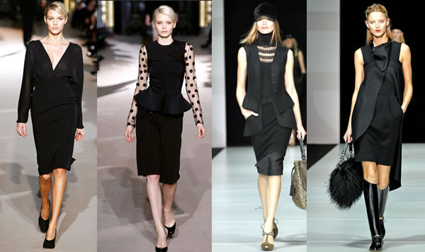 The best little black dresses for over 40 women from the 2011 fall ...
