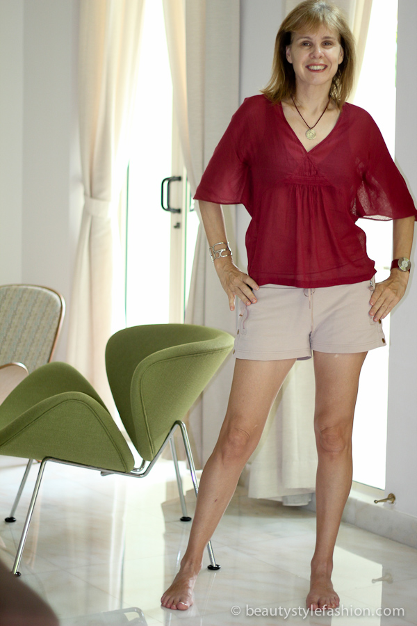 shorts for over 40 women