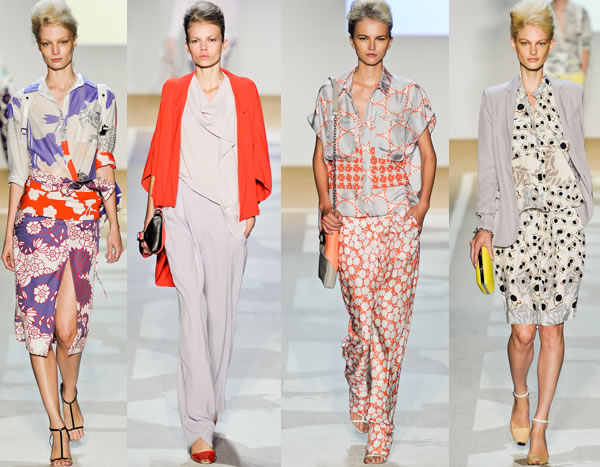 Diane von Furstenburg 2012 spring collection