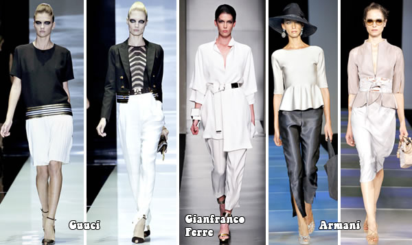 favorite outfits from spring 2012 collections from Milan