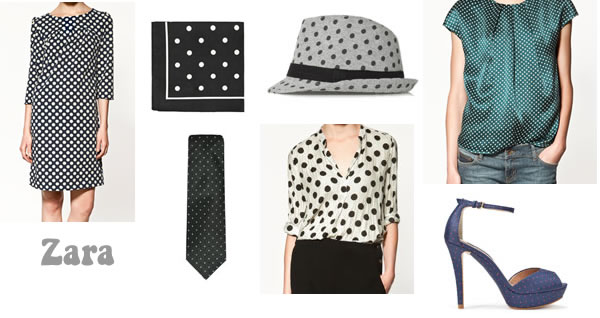 Polka dot trend for fall 2011 - Zara collection