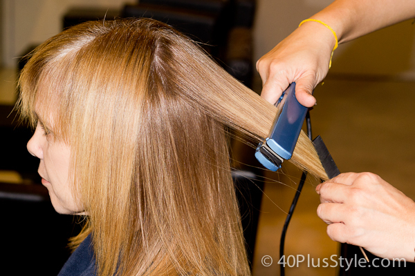 brazilian blowout keratin treatment iron