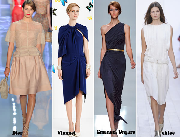 Dresses for women over 40 Spring 2012