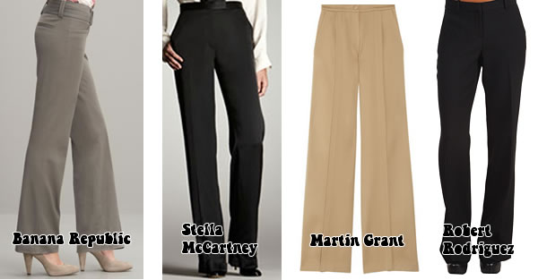 Flared pants neutral