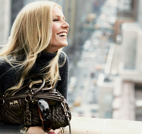 Gwyneth paltrow for coach ad Madison coach bags range