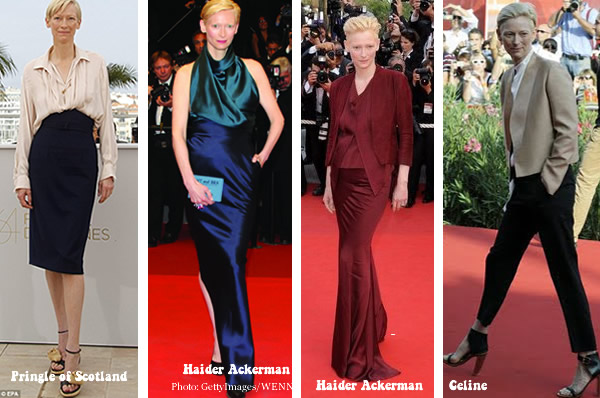 tilda swinton looking great at 50