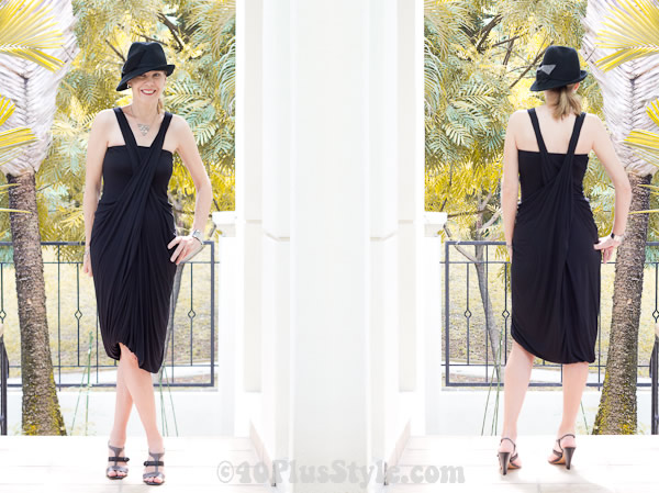 Advantages of a drape dress