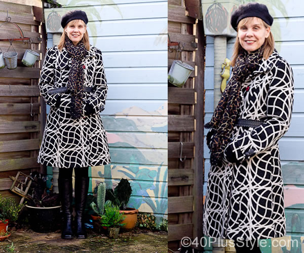Beautiful winter coats with colors and patterns! Desigual winter coats