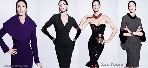 Zac Posen Prefall collections 2012 best dresses for women over 40