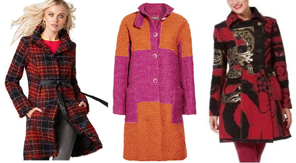 colorful print jackets for winter