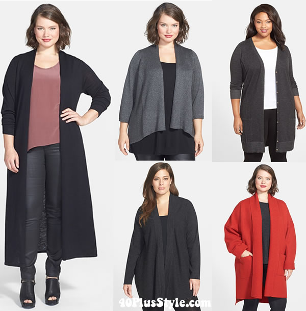 How to hide your belly with cardigans | 40plusstyle.com