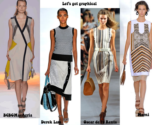 best spring / summer 2012 trends - graphical 