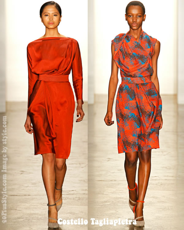 Costello Tagliapietra fall winter 2012 dresses