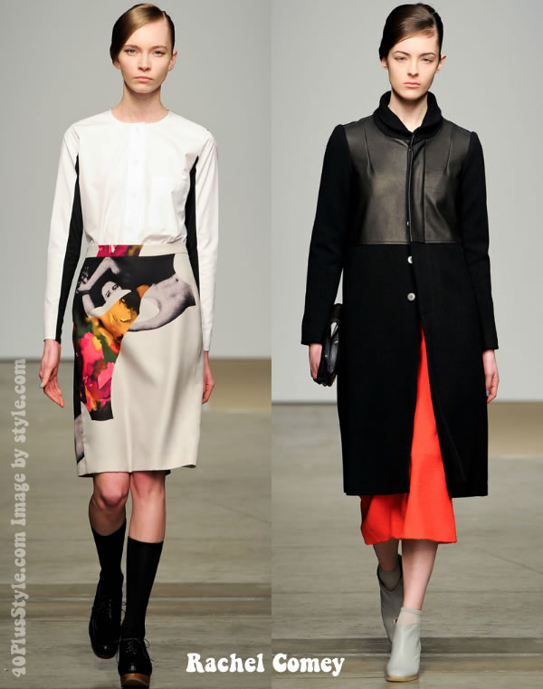 Rachel Comey fall 2012 collection highlights