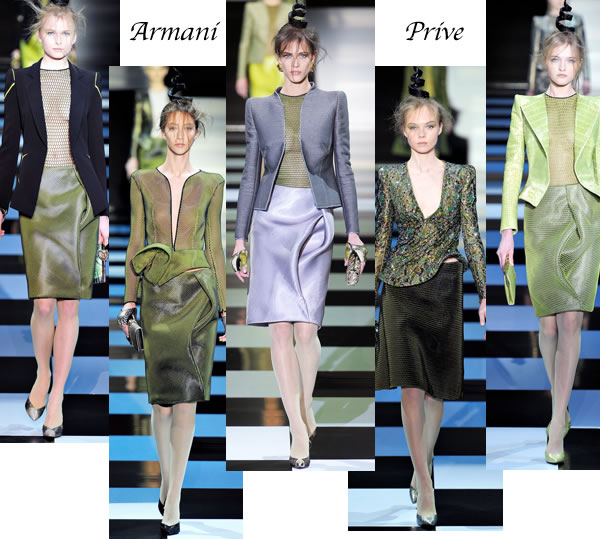 best dresses and suits Spring 2012 couture collections paris