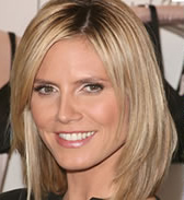 Heidi Klum haircut