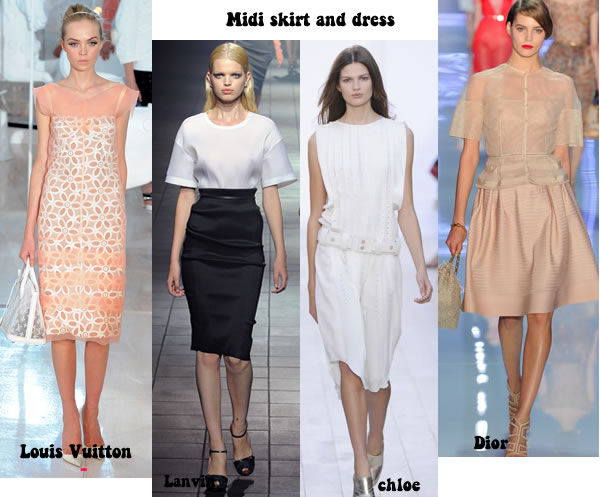 midi skirts and dresses for women over 40