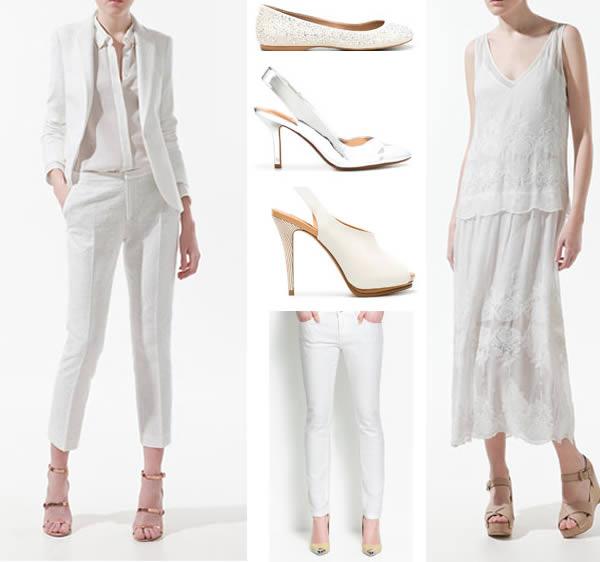 2012 Spring trend all white