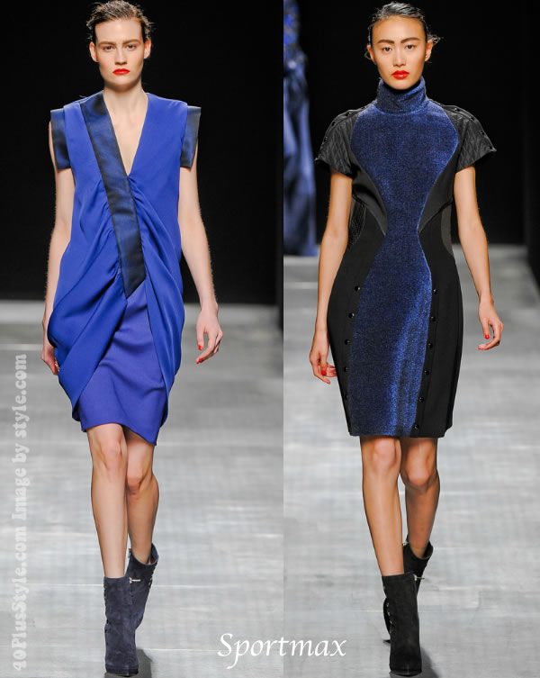 Sportmax Fall Winter 2012 highlights
