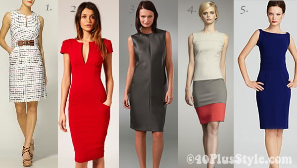 Best desses for women over 40 wearing the trends for Spring 2012 ...