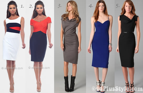 Dresses for women over 40 - ladylike trend