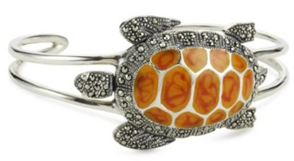 Rock turtle cuff bracelet from karen london