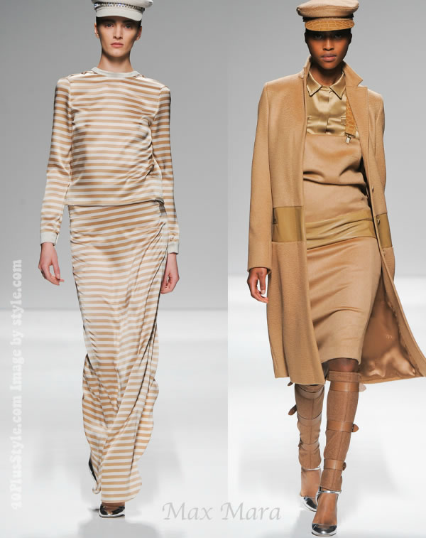 Max Mara Fall 2012 collection