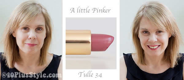 Pink Bobbi Brown lipstick 34