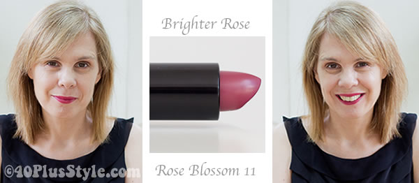 Rose blossom lipstick from Bobbi Brown cosmetics