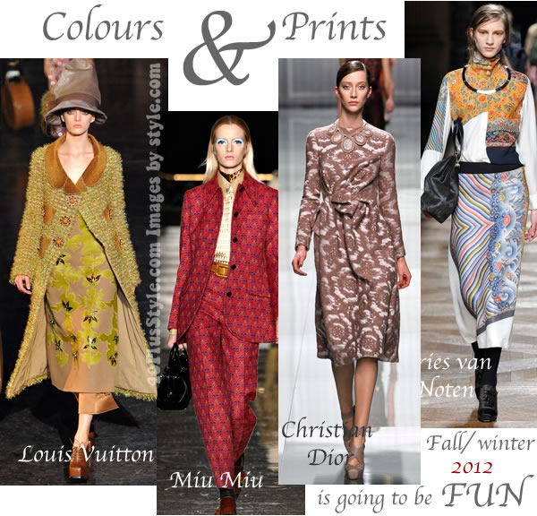 Trends for fall / winter 2012 - first impressions