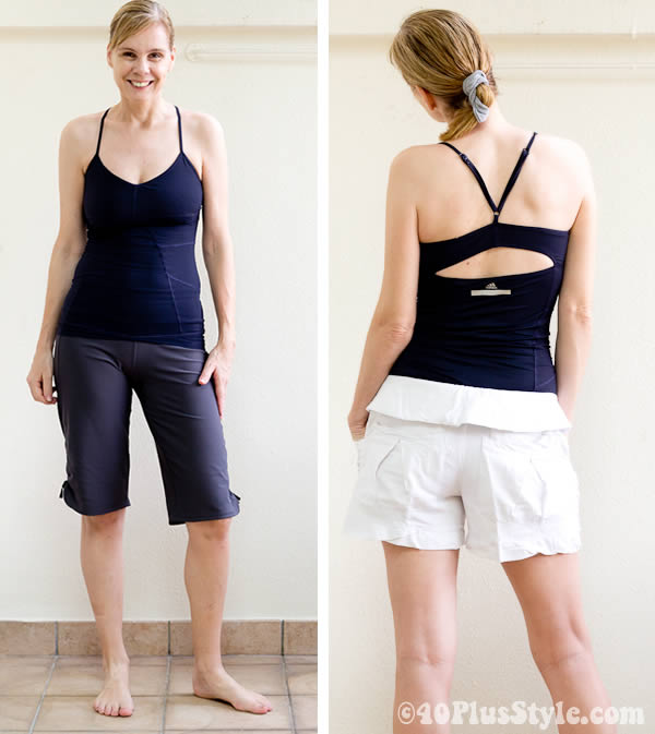 Yoga clothing for women over 50