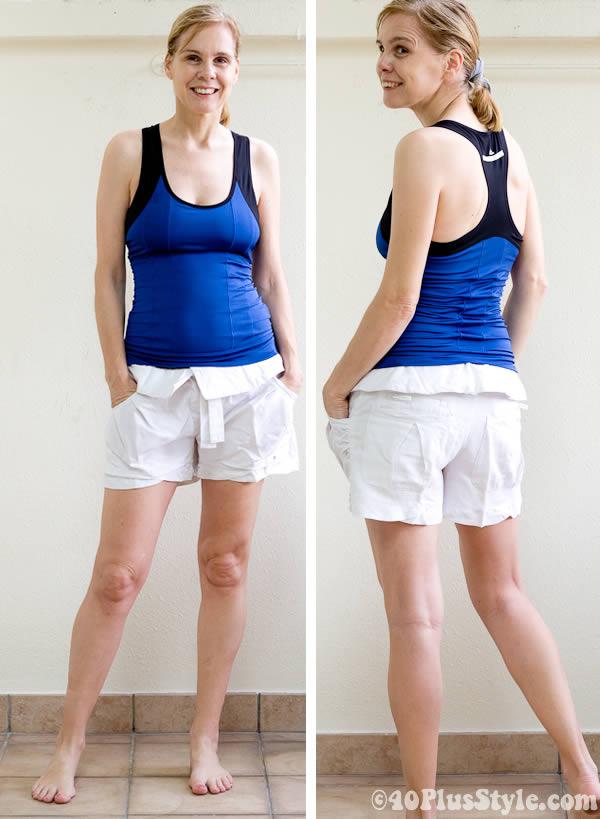 Yoga shorts from Stella McCartney for Adidas