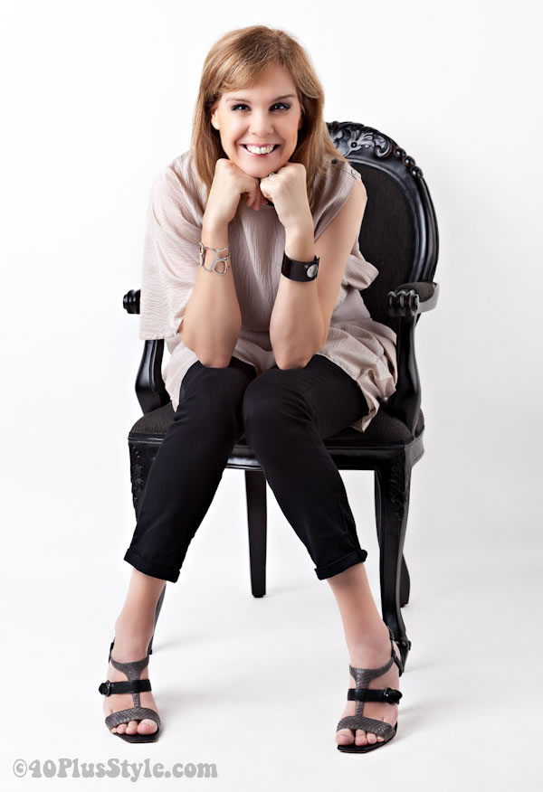 photo in chair