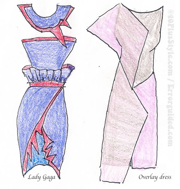 Designer dresses from recycled fabrics