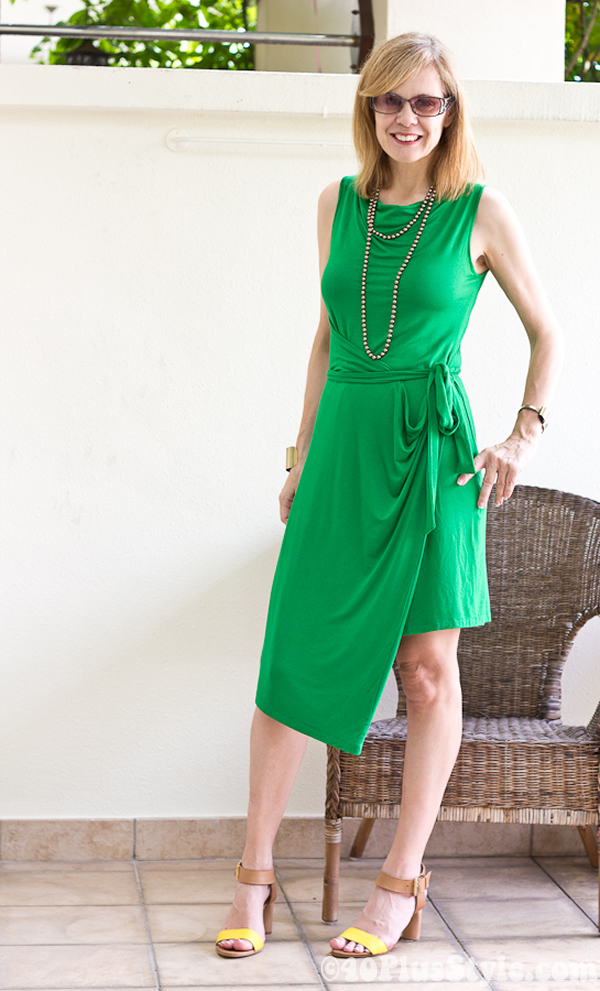 Green dress available in Singapore