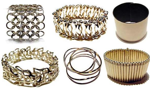Hans Appenzeller golden bracelets