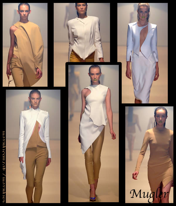Mugler Spring Summer 2012 collection
