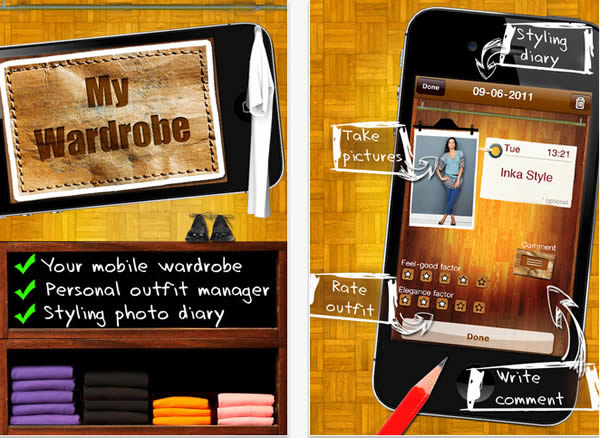 My wardrobe manager app