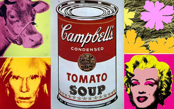 Andy Warhol artworks