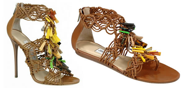 Iris Apfel Jimmy Choo shoe