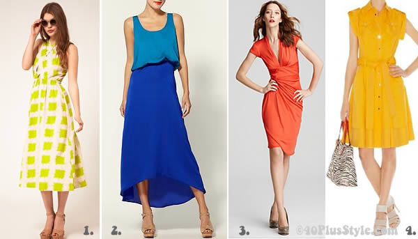 colourful summer dresses