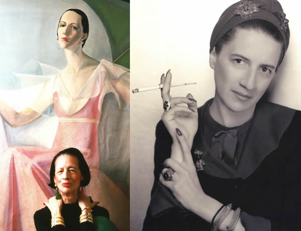 Fashion tips by style icon Diana Vreeland | 40plusstyle.com