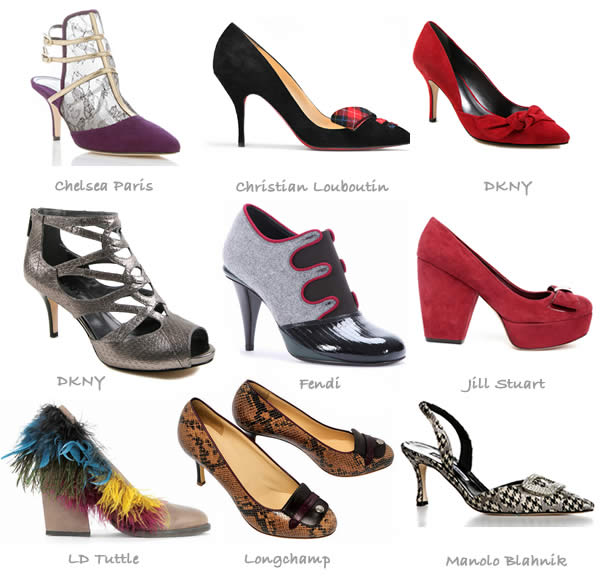 mid heel shoe trends fall 2012