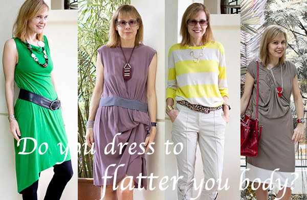 flatter your body with dressing
