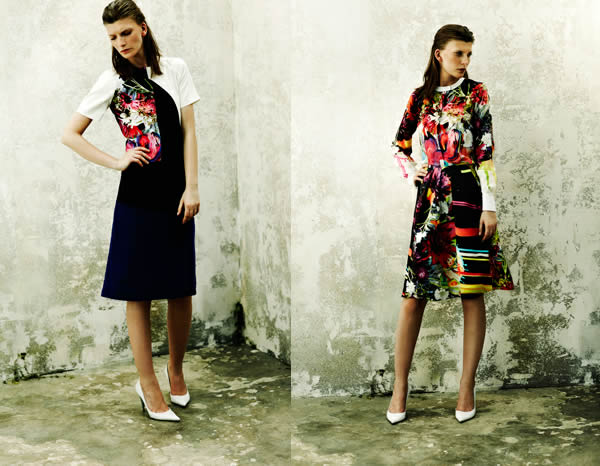 preen colourful dresses