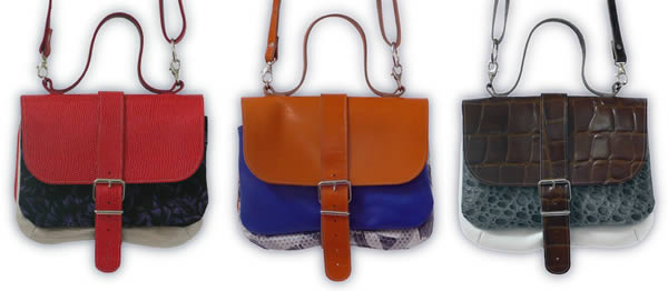 3 pockets handbag