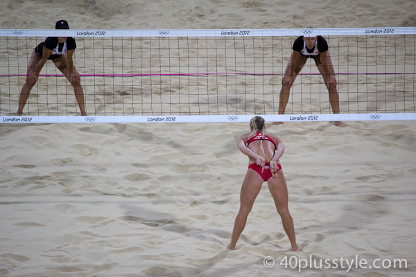 Beach volleyball London